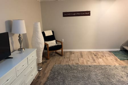 Clean cosy lower level townhouse