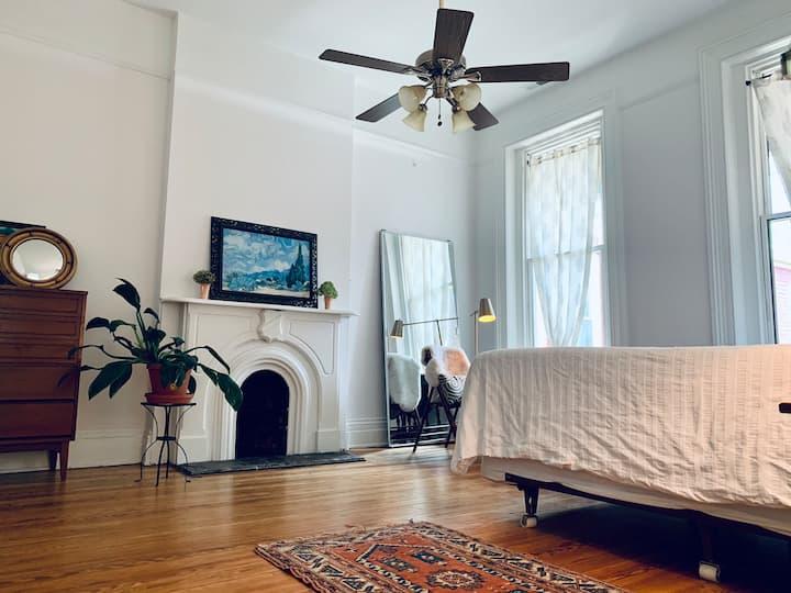 cozy vintage room
