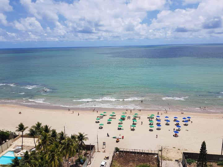 Recife e  litoral,  Apto na Beira-Mar de Piedade