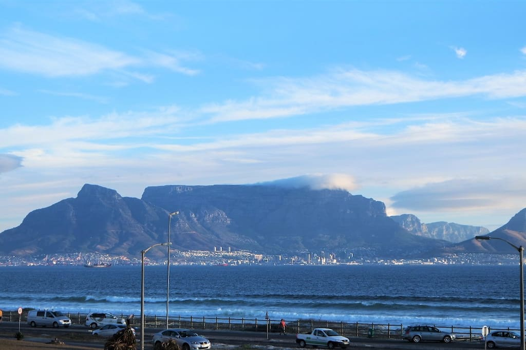 Table Mountain from the garden.