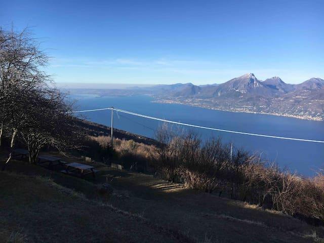 Appartamento Prada - vista Lago di Garda e relax