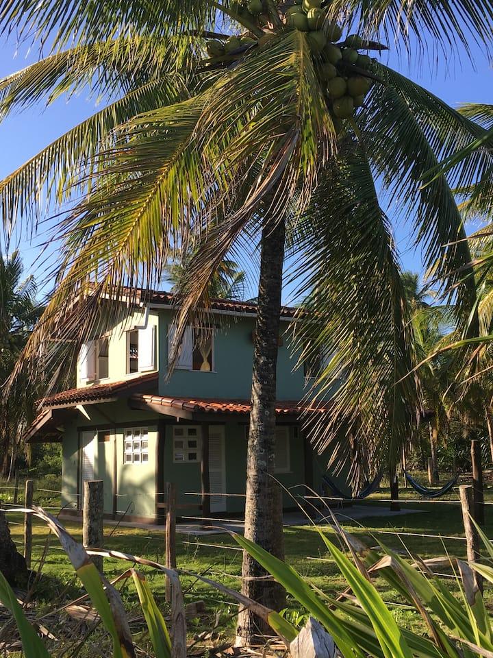 Casa da Praia - Bainema - pé na areia