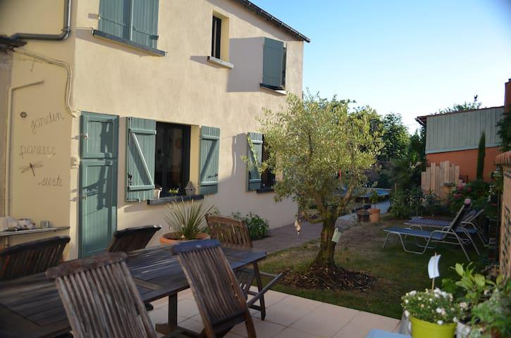 Location 1 ou 2 chambres avec piscine - Chantonnay - Maison