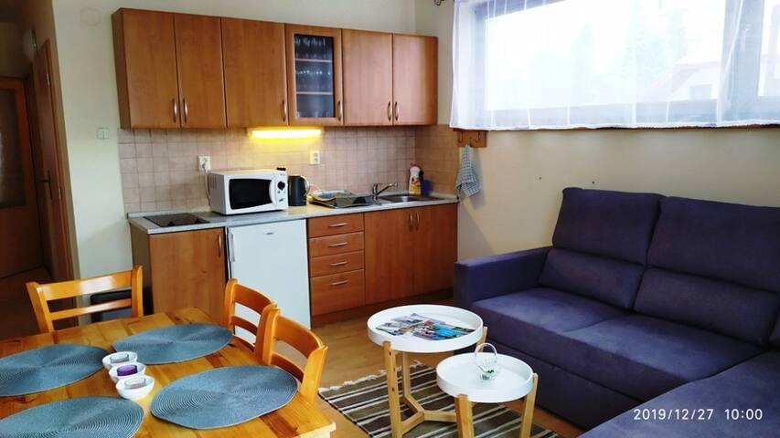 apartmán Alpinka pod Velkou Račou v Oščadnici