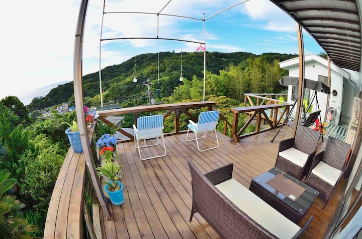 5min. from station! Breathtaking View House