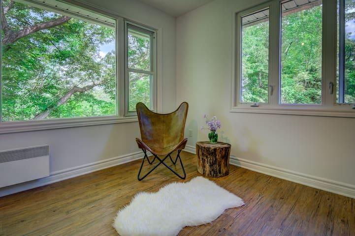 Master Bedroom Reading Area
