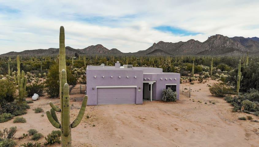 Tucson Home on 2 Acres Saguaro Desert