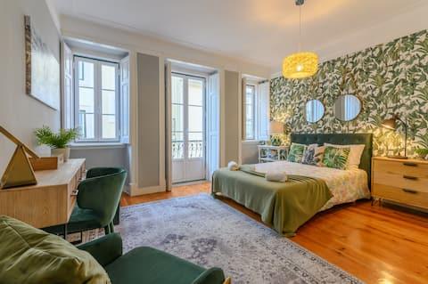 Santana lejlighed i centrum, op til 5 gæster