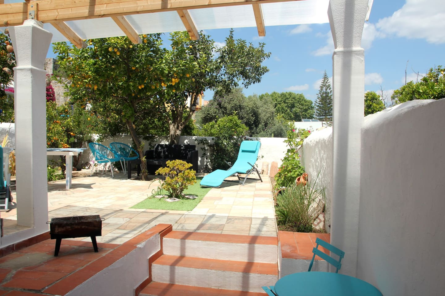 The garden with sunny and shade spaces...relax!