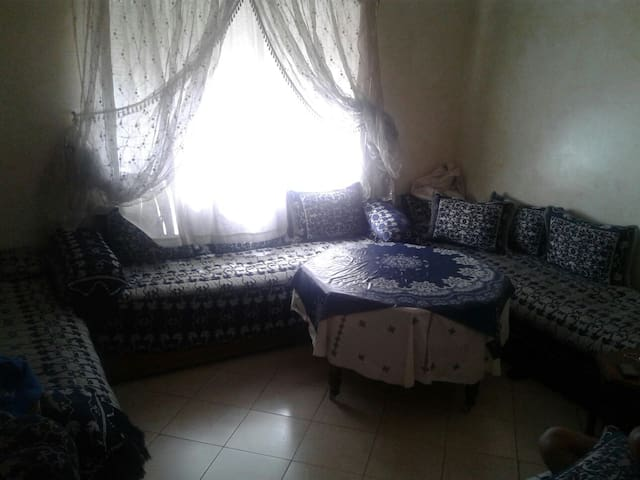 Chambre confortable face un jardin - Casablanca - Apartment