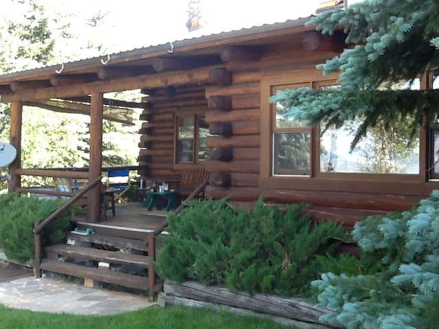 Teton Valley Sanctuary Hidden in the Woods
