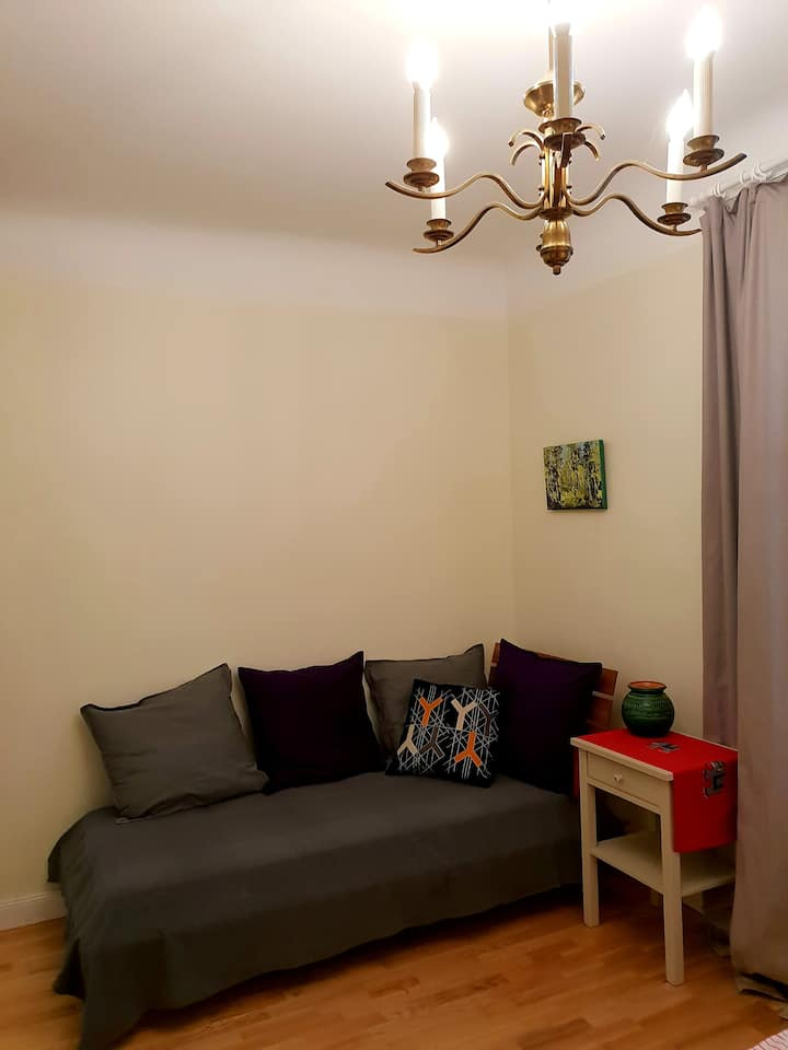 1 room flat in Jurmala, Bulduri