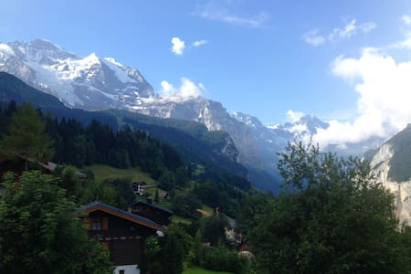 Apartment with balcony in WENGEN - Lauterbrunnen