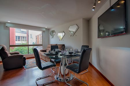 Great view, Top location near Parque de la 93 - Bogotá - Appartement