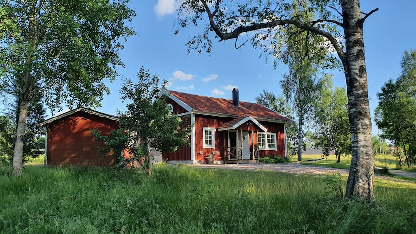 Sjönära hus på landet (4 pers)