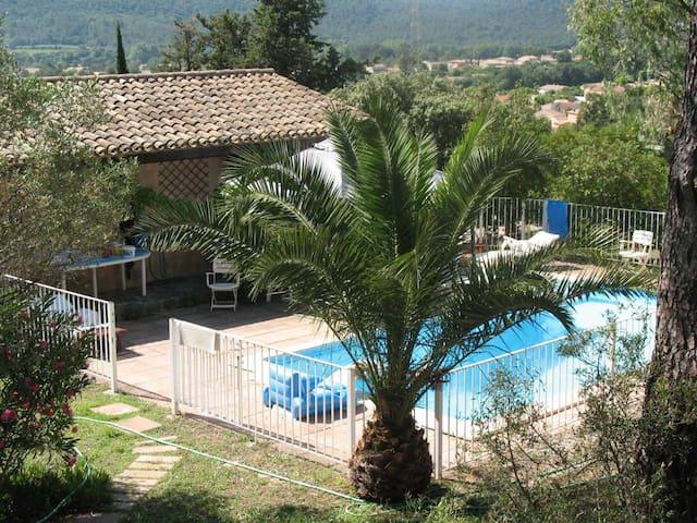 B&B sdb piscine terrasse privée