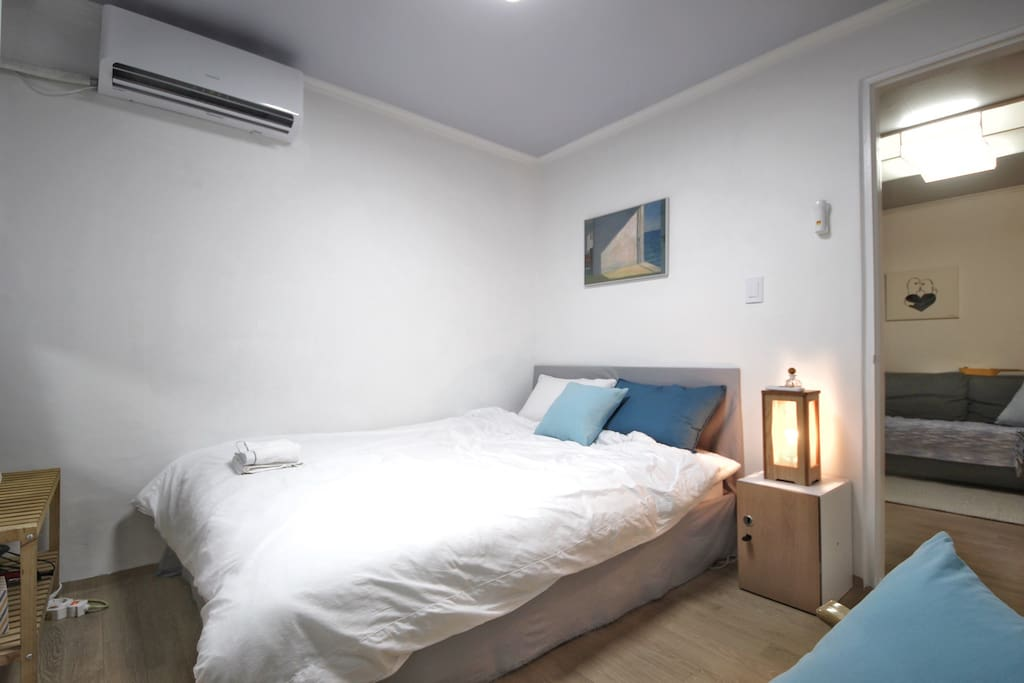 A comfy room for two with everything you need ;)