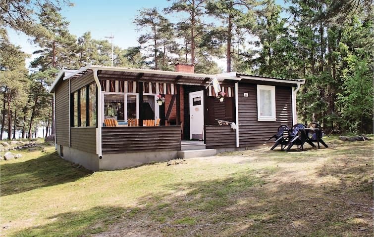 Holiday cottage with 1 bedroom on 50 m² in Mönsterås