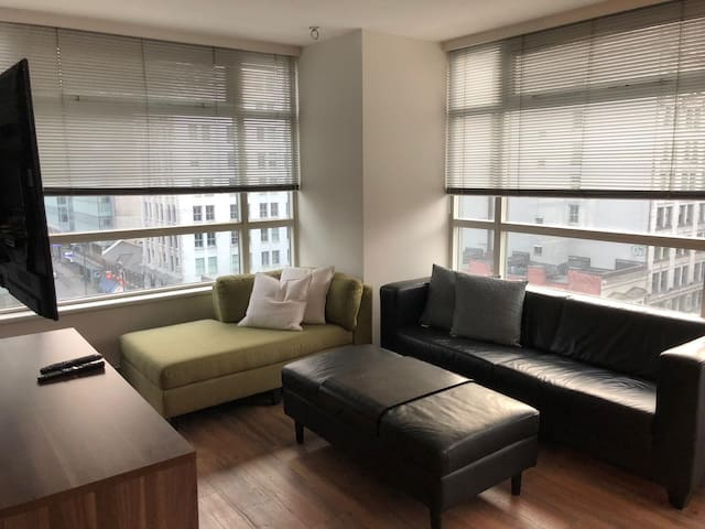 1 bedroom fully furnished in the heart of VanCity