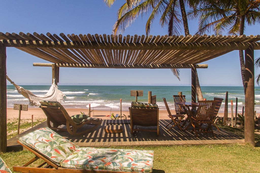 Deck de Praia