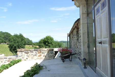 Un coin de paradis avec vue panoramique - Le Monteil - Other