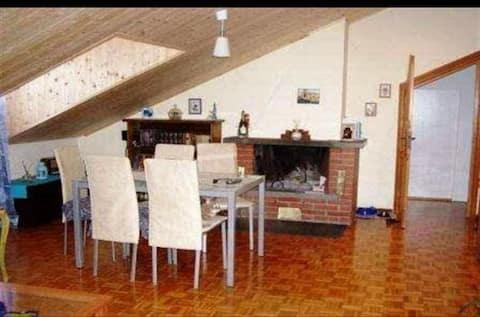 Appartamento mansardato di 100mq a Pontinvrea