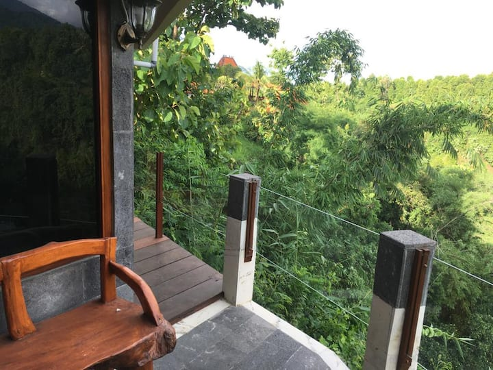 Valley,waterfall view retreat  & pool -Aling ALing