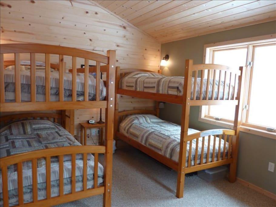 Main level bunk room.
