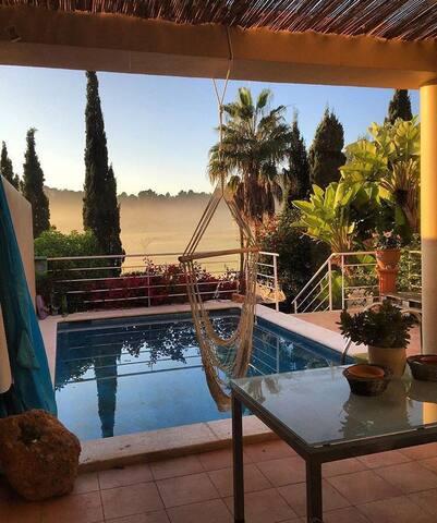 Wundervolles Haus am Golf von Ibiza - Santa Eulalia del Río - Hus