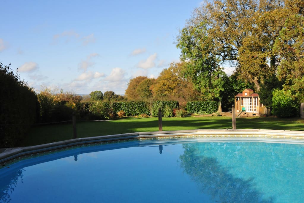 Guests are welcome to use the outdoor pool when open during summer months