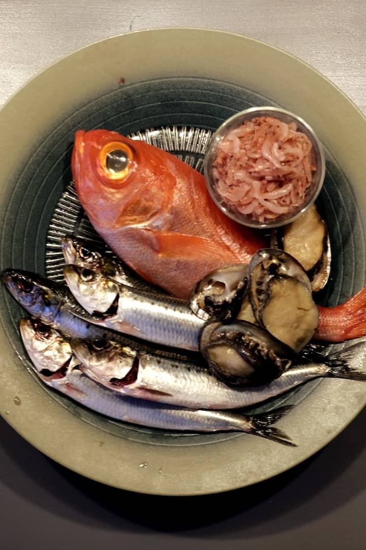 日本の食材を、日本ならではの調理方法で