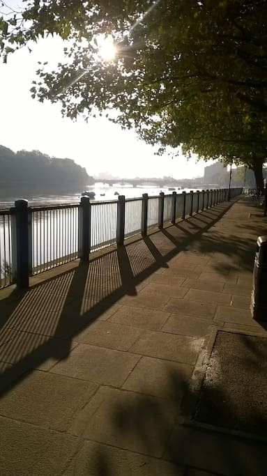 Your walk to the tube!