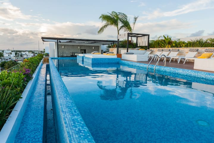 TOP AMENITIES, PERFECT LOCATION! Playa del Carmen