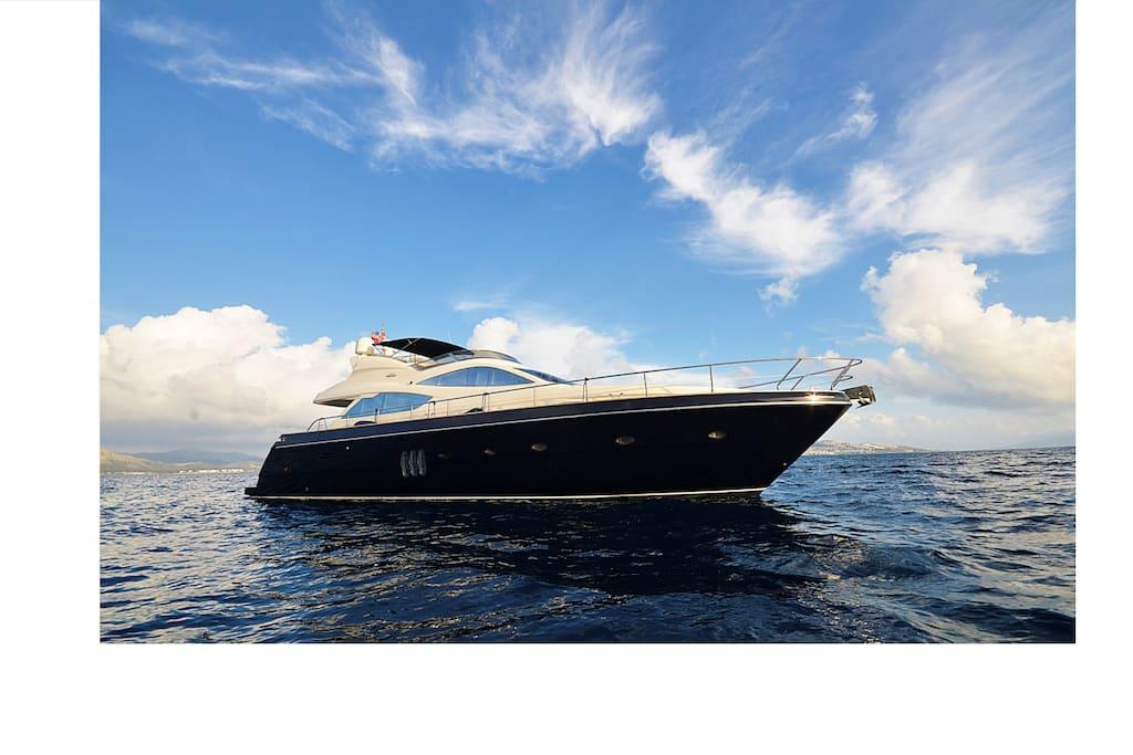 Luxury motor yacht in bodrum boten te huur in bodrum for 4 4422 c