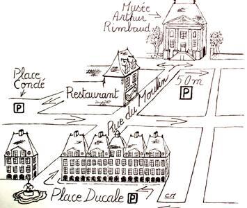 """Côté Chambres """"Au Cabaret Vert"""" - Charleville-Mézières"""