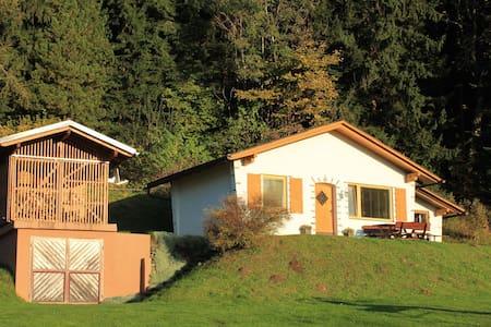 Gemütliches Ferienhaus mit privatem Pool in Eberstein
