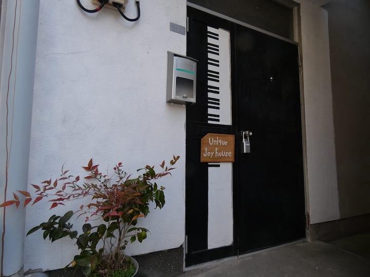 Unique joy House JR法界院駅より9分 バス停より2分 大学 スーパー近く一戸マル貸