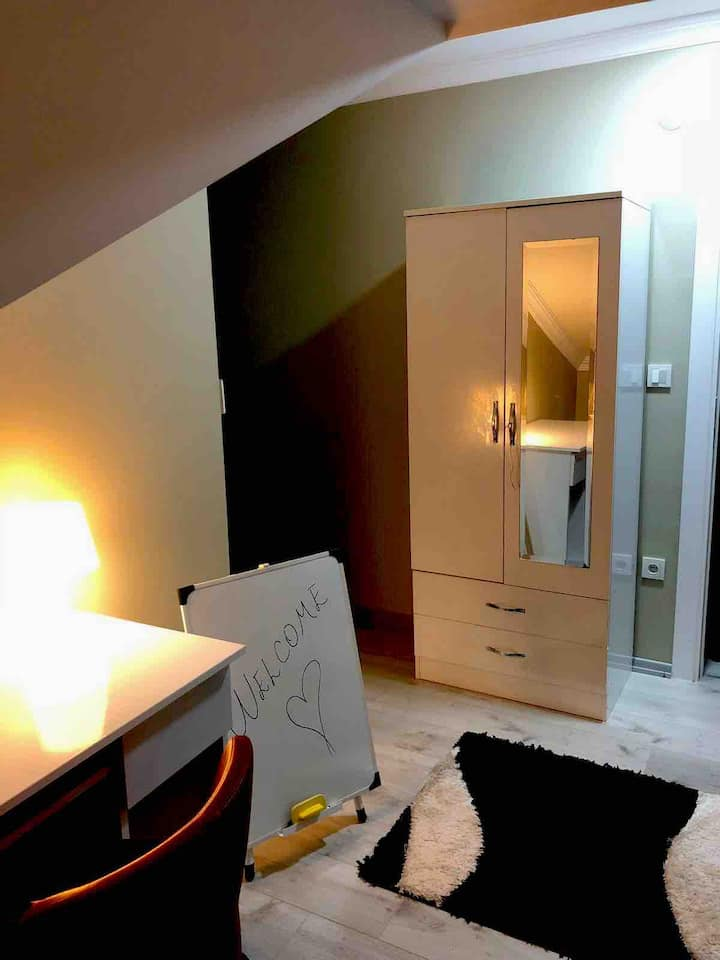 Private flat (easy access everywhere in Istanbul)