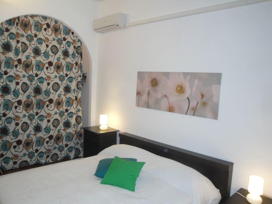 2.Main bedroom with big wardrobe