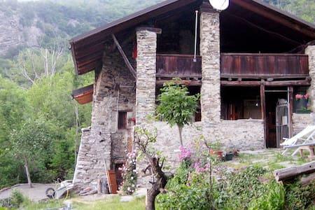 Rustieke Boerenwoning Piemonte - Mompantero - Cottage