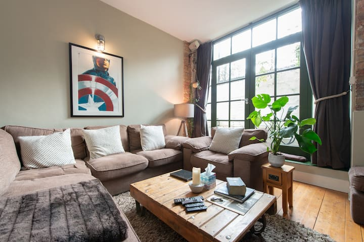Jack's place - Luxury Industrial style 1 bed flat