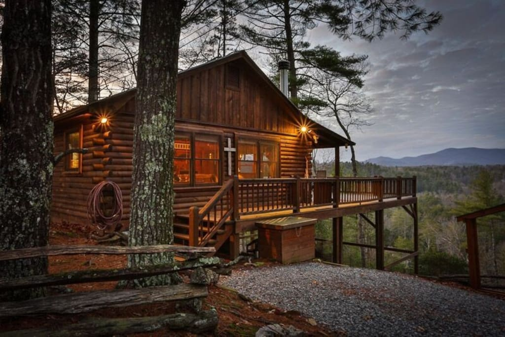 Carter s kaleidoscope view cabins for rent in ellijay for Ellijay cabins for rent by owner