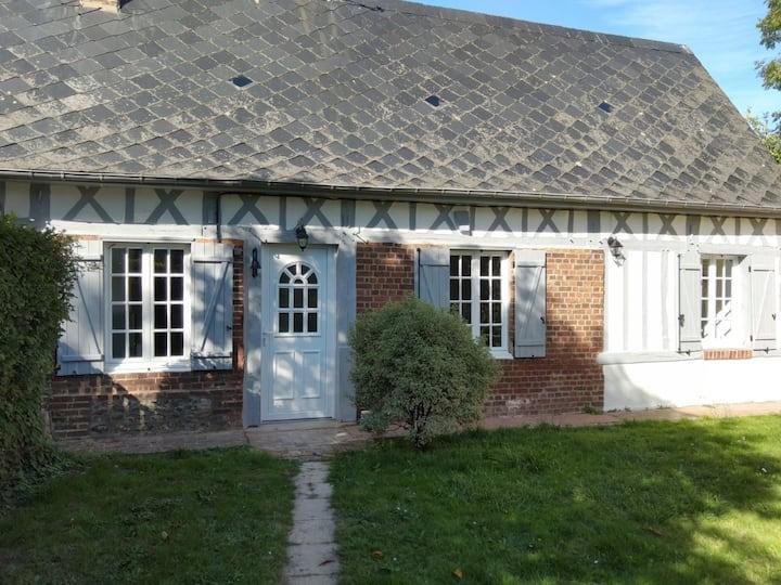 charmante maison normande luneray