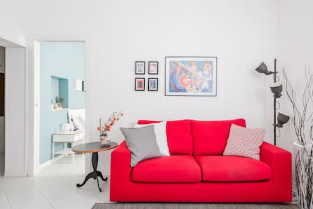 Chill at a Colorful, Contemporary Abode near Bologna Fiere