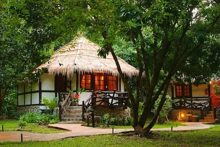 Jungle Chalet on the River Kwai