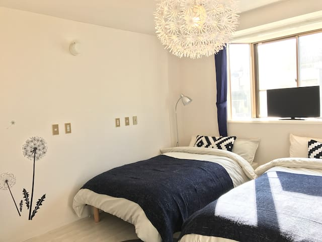 NewOpen★Private Apartment Near Namba,OCAT/FreeWifi - Naniwa-ku, Ōsaka-shi