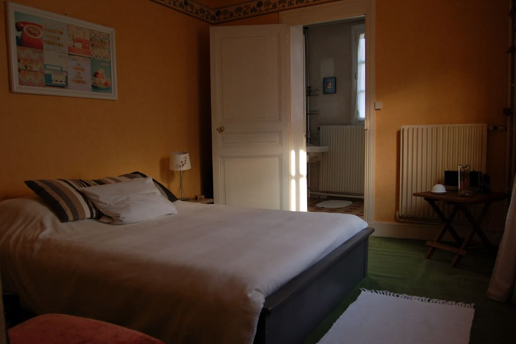chambre avec sdb wc priv s houses for rent in tours centre france. Black Bedroom Furniture Sets. Home Design Ideas