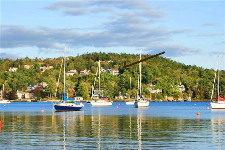 Bright sunny B&B overlooking Bedford Basin - Bedford - Bed & Breakfast