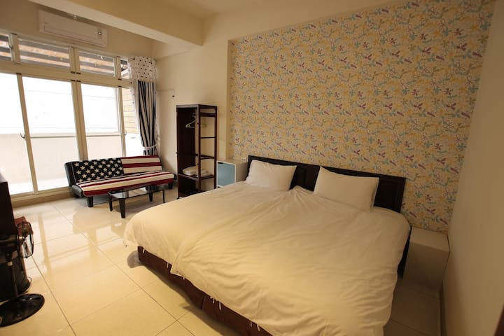 Riders Rest _ Nanyang style Double Room - Ji'an Township - Reihenhaus
