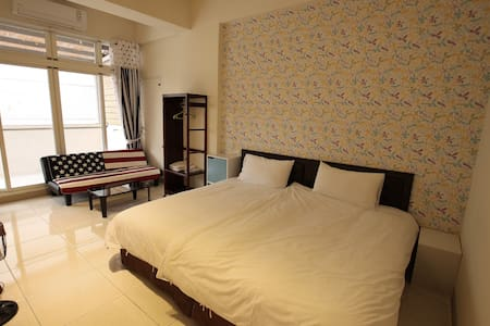 Riders Rest _ Nanyang style Double Room - Ji'an Township - 连栋住宅